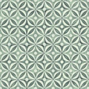 Vinyl Premium grey cement tiles 1035